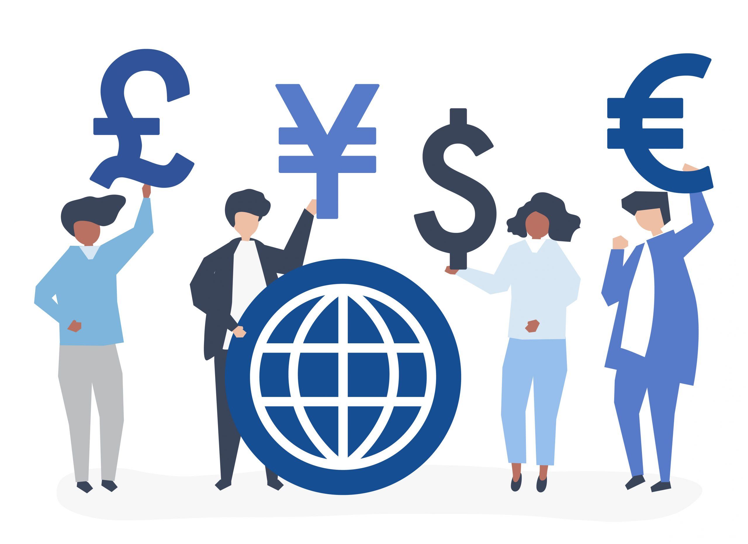 Fixed and Dynamic Multi-Currency Pricing Options